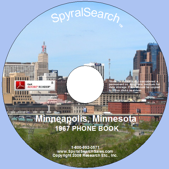 Vintage minneapolis phone book
