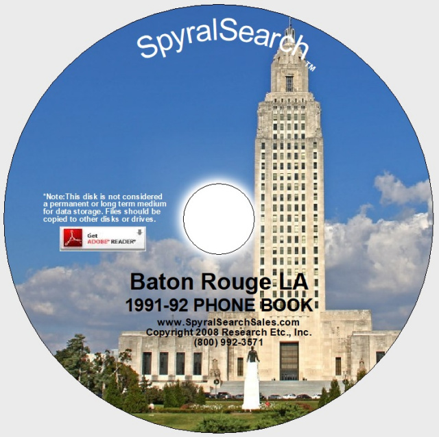 Louisiana Directories: Louisiana Phone Books, White Pages