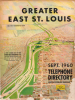 IL - Greater East St Louis 1960 Phone Book