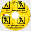 CA - Los Angeles Western 1984 Yellow Pages