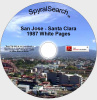 CA - San Jose - Santa Clara 1987 White Pages